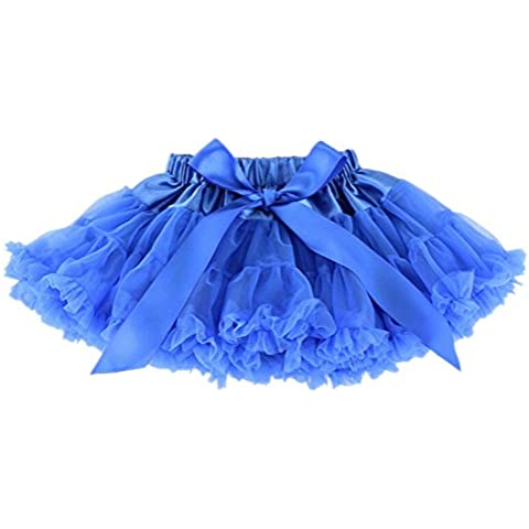 Niños de las muchachas trajes vestido de la danza del tutú de la enagua enagua de múltiples capas de