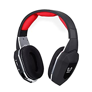 HUHD® 2.4Ghz Optical Wireless Gaming Headset HW-399M for Xbox 360, PS4/3, PC,Compatible For Xbox One With Using of Kinect Or Microsoft Adaptor , Noise Cancelling, Detachable Microphone, Improved Version (B00NHKEAZ6) | Amazon price tracker / tracking, Amazon price history charts, Amazon price watches, Amazon price drop alerts