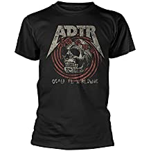 A Day To Remember T Shirt Flower Skull band logo nuevo Oficial de los hombres