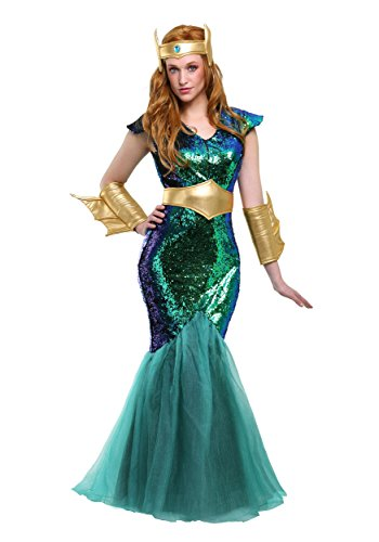 Fun Costumes Frauen-Meer-Sirene - 2X
