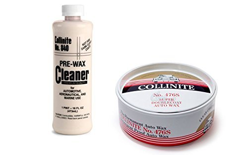 Preisvergleich Produktbild Collinite 840 Pre-Wax Cleaner & 476S Super Doublecoat Paste Wax by Collinite
