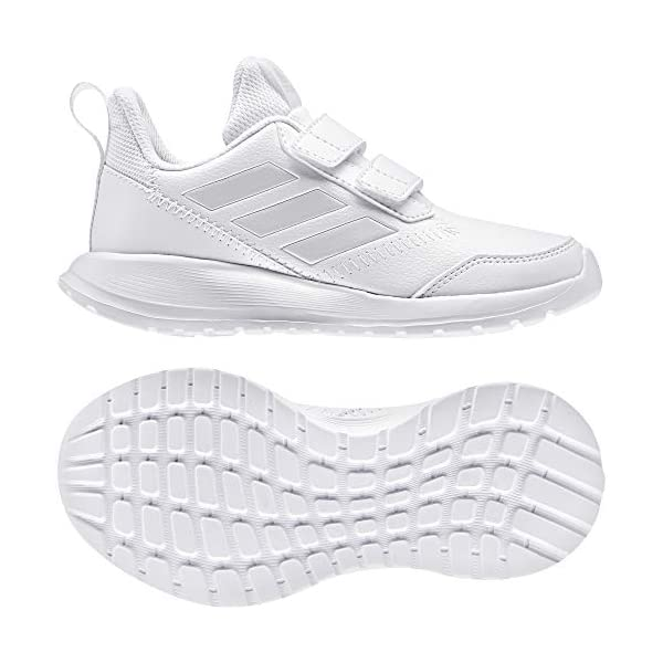 adidas Unisex Kids' Altarun Cf K Competition Running Shoes, White Griuno/FTW Bla 000, 1 UK