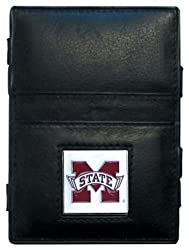 NCAA Mississippi State Bulldogs Leather Jacob's Ladder Wallet