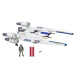 Hasbro Star Wars - B7101EU4 - Rogue One Fahrzeug U-Wing mit 3.75 Figur, Actionfigur