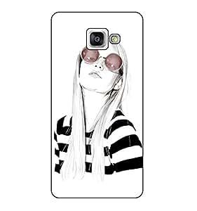 Happoz Designer Cute Cartoon Disney Hard Back Case for Samsung Galaxy A7 (2016) A710 D181