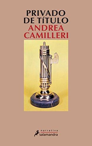 Privado de Titulo Cover Image