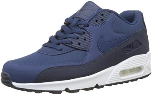 Nike Air Max 90 Essential, Baskets Homme, Bleu (Obsidian/Navy-White 427), 44.5 EU