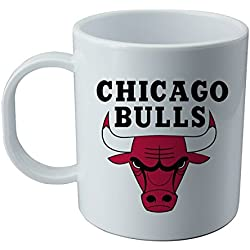 Taza y pegatina de Chicago Bulls - NBA