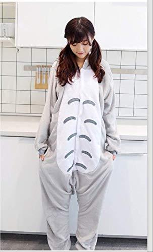 Flanture Cartoon Overall Cartoon S Drachenkatze l,Erwachsene Unisex Pyjamas Kostüm Jumpsuit Tier Schlafanzug Fasching Cosplay Karneval