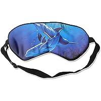 Eye Mask Eyeshade Dolphins Sea Painting Sleeping Mask Blindfold Eyepatch Adjustable Head Strap preisvergleich bei billige-tabletten.eu
