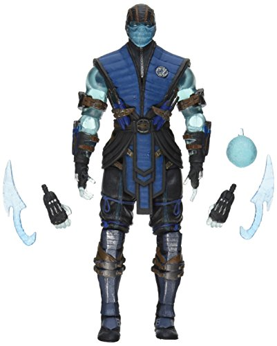 mbat X: Sub-Zero (Ice Version) 15,2 cm Action Figur (Mortal Kombat Waffen)