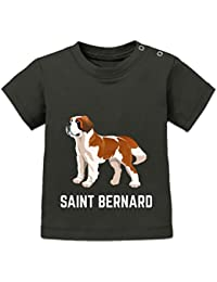 Saint Bernard Illustration Baby T-Shirt by Shirtcity