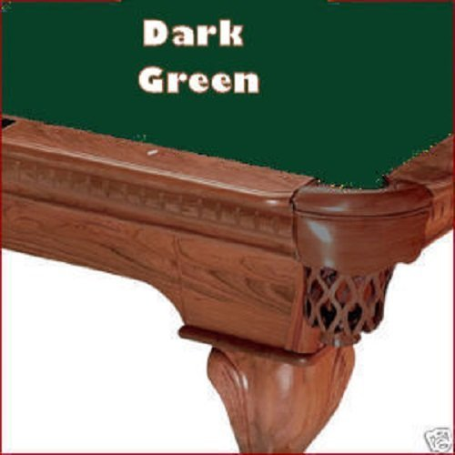 8' Championship Saturn II Teflon Dark Green Billiard Pool Table Cloth Felt by Championship