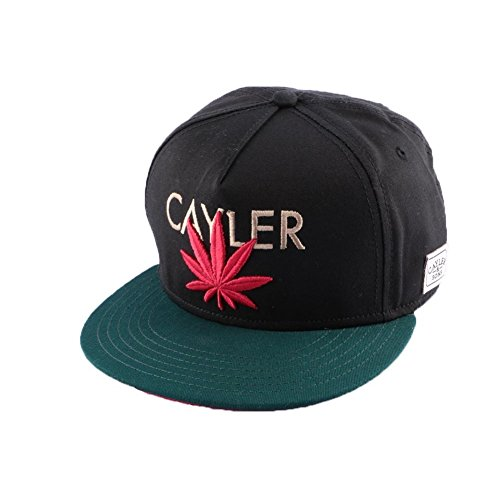 Cayler And Sons - Casquette Snapback Homme Cayler Cap - Black/Forest Green/Red