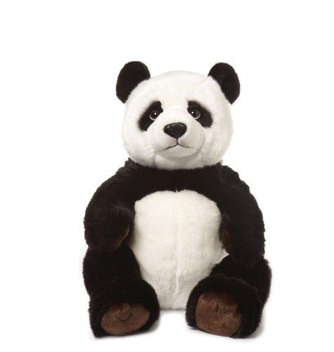 WWF Plüsch Kollektion WWF16809 - Plüschfigur Panda Sitzend 47 cm, Plüschtiere