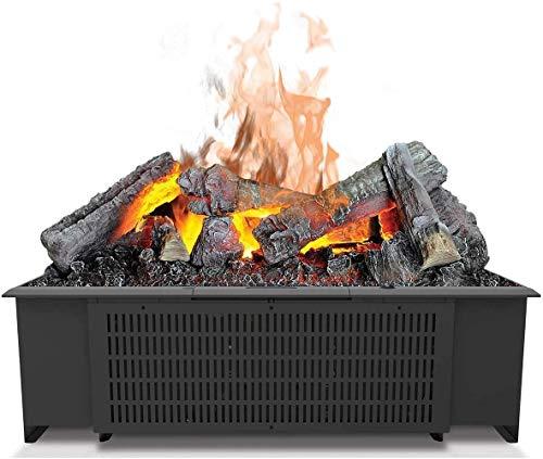 EWT Faber cas600nh Indoor Log Insert Fireplace Electric Black-Kamin (550mm, 220mm, 320mm, 7kg, 700mm, 340mm)