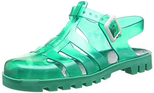 JuJu ShoesMaxi - Sandali donna , Verde (Green (Jade Green Sparkles/Jade Green)), 36