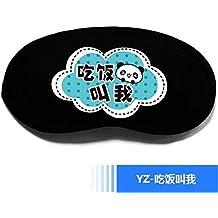 T-YZAG 2 piezas Sombreado, máscara de ojo de dormir transpirable, hombres y