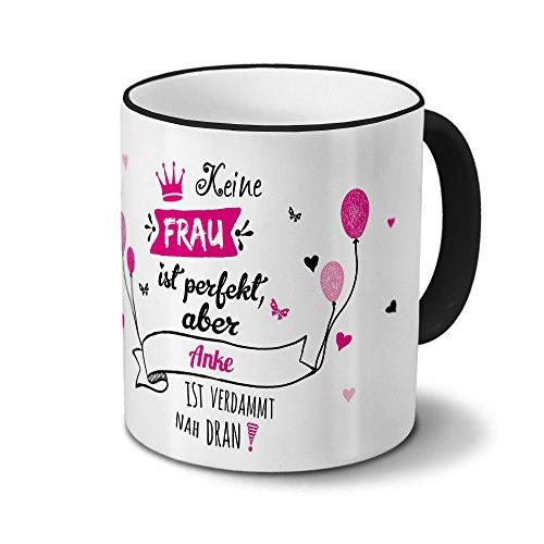 Tasse mit Namen Anke - Motiv