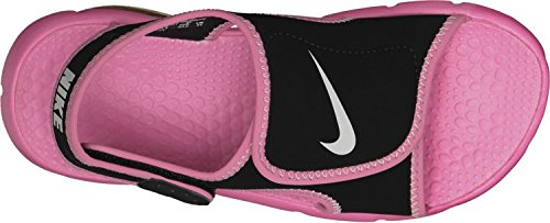 Nike Sunray Adjust 4 (Gs/Ps), Tongs Garçon, Rose, 3.5UK/23.0cm Blk/Pink