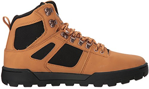 DC Shoes Mens Spartan High WR Boot Hi Top Shoes Brown WD4
