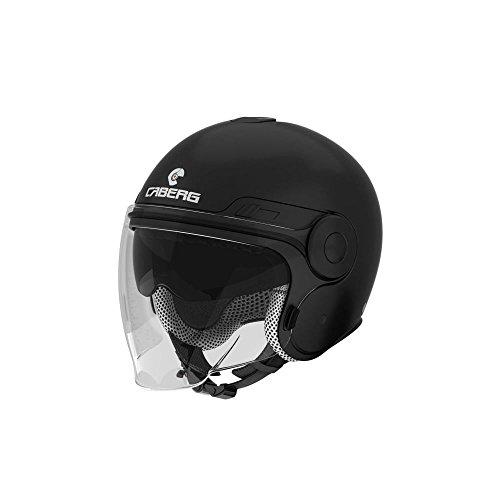 Caberg Uptown motocicleta Jet Casco termoplástico–Negro Mate