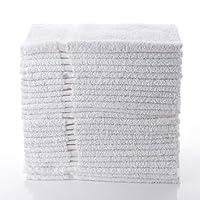 "Simpli-Magic 79149 Hand Towels Basic, 16""x27"", White 12 Pack"