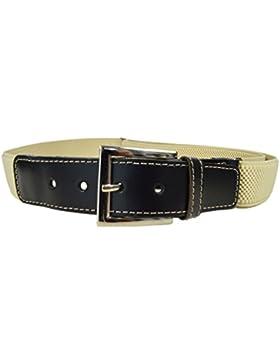 Cinturón Elástico / Cuero para los Niños / Jóvenes 5-15 Años con Hebilla