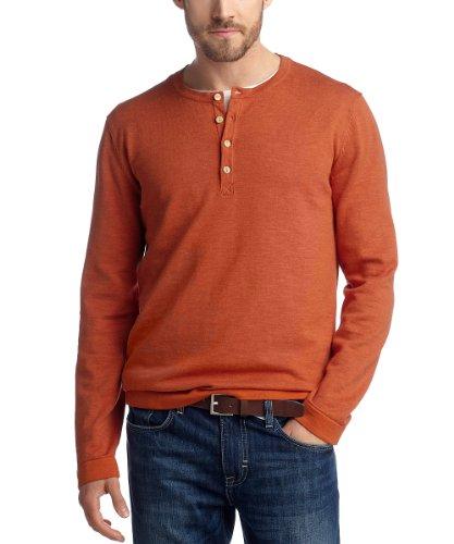 ESPRIT - Pull - Homme Orange (812 Dusty Orange)