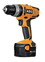 Aeg Bsb 12G2-DRILL, LI-ION, 12V, 60min, 1.5kg, Black, Orange