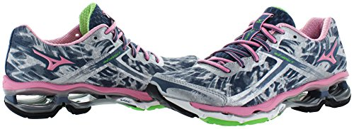 Suola Mizuno Wave Creation 15, Scarpe da corsa, da donna, taglie varie Gray/Pink
