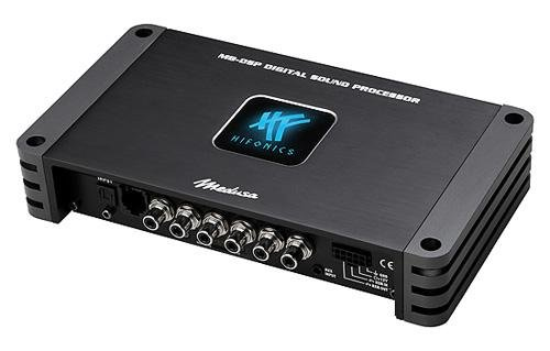 dsp endstufe Hifonics Medusa m8-dsp schwarz Verstärker Audio–Verstärker Audio (0–180°, 20–20000Hz, 216mm, 40mm, 120mm)
