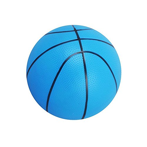 Little Sporter Kunststoff Baketball Aufblasbare Ball Blow up Baketball Strandball Pool Baketball Party Schwimmbad Spielzeug Blau