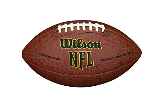 WILSON NFL Super Grip Fußball, braun, Junior