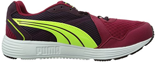Puma Descendant V2 Wn's - Chaussures de Running - Femme Rouge - Rot (cerise-potent purple-fluro yellow 04)