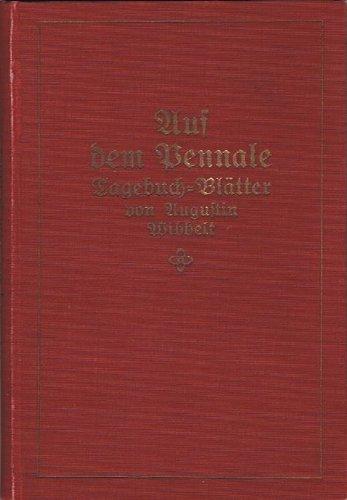 Auf dem Pennale. Tagebuch-Blätter