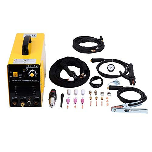 MuGuang 3 en 1 Air Plasma Cutter multifonctions CT312 MMA/TIG/CUT machine de soudure Inverter Welder machine