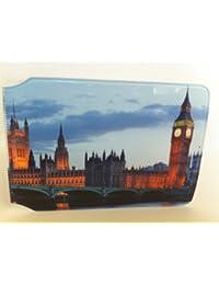 Tarjetero de tarjeta Oyster con el Big Ben y el Parlamento Británico