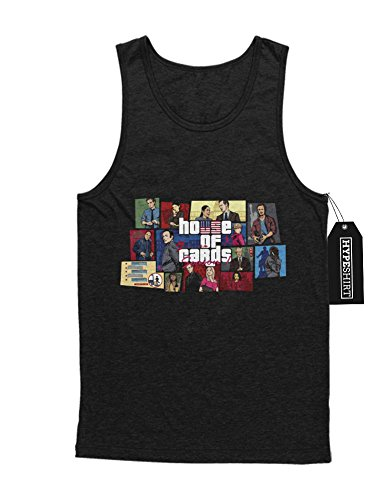 Tank-Top House Of Cards Mash Up GTA H549342 Schwarz M