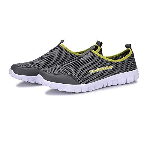 Casual Suede Shoe Männer und Frauen Sandalen Casual leichte schnell trocknende Mesh Aqua Slip-on Wasser Schuhe perfekte Übereinstimmung für wasserdicht Herren Sneaker -