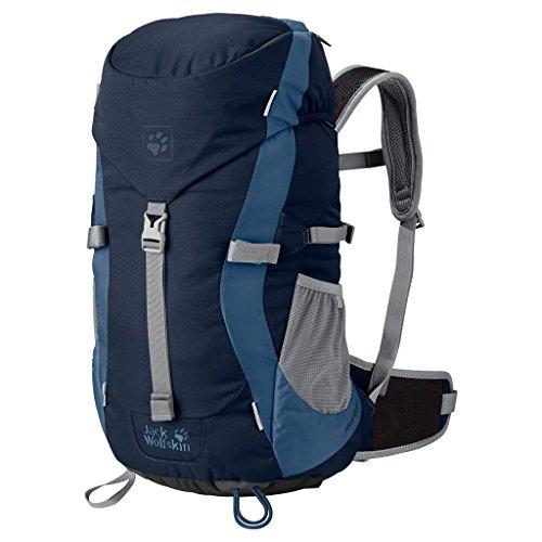 Jack Wolfskin Kinder Kids Alpine Trail Backpack For Children, Midnight Blue, 52 x 26 x 24 cm (Alpine Nylon Rucksack)