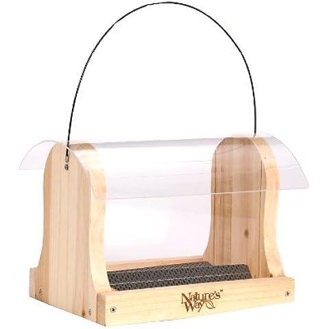 NATURES WAY BIRD PRODUCTS LLC - Cedar Hopper Bird Feeder, 4-Qt.