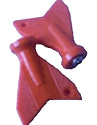 Osg Athletic de teclas de correr o ir al gimnasio nuevo ligero pinchos de fijación antideslizante para aguja para prendas de piel - llave extracción rojo