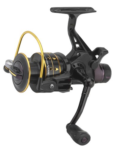 mitchell-avocet-3-gold-4000-freespool-reel-black