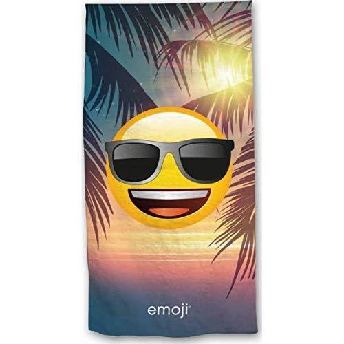 Emoji Drap de Plage Soleil coucha