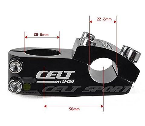 'en aluminium, Potence de vélo BMX Potence 50mm Longueur 11/822,2mm