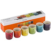 Le Creuset - Juego de 6 tazas de café de gres
