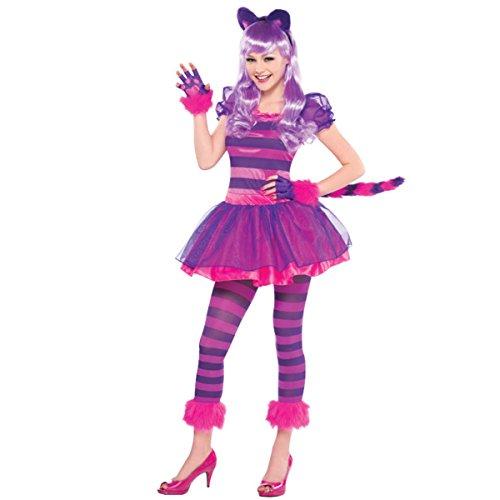Kostüm Tanzgruppe - Grinsekatze Kostüm für Teenies