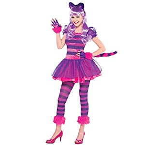 Amscan International - Disfraz de gato para niñas, 14-16 años (999450)