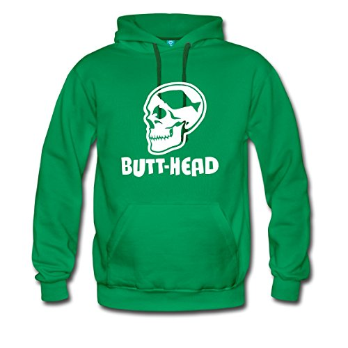 Angeln Butt-Head Männer Premium Kapuzenpullover von Spreadshirt®